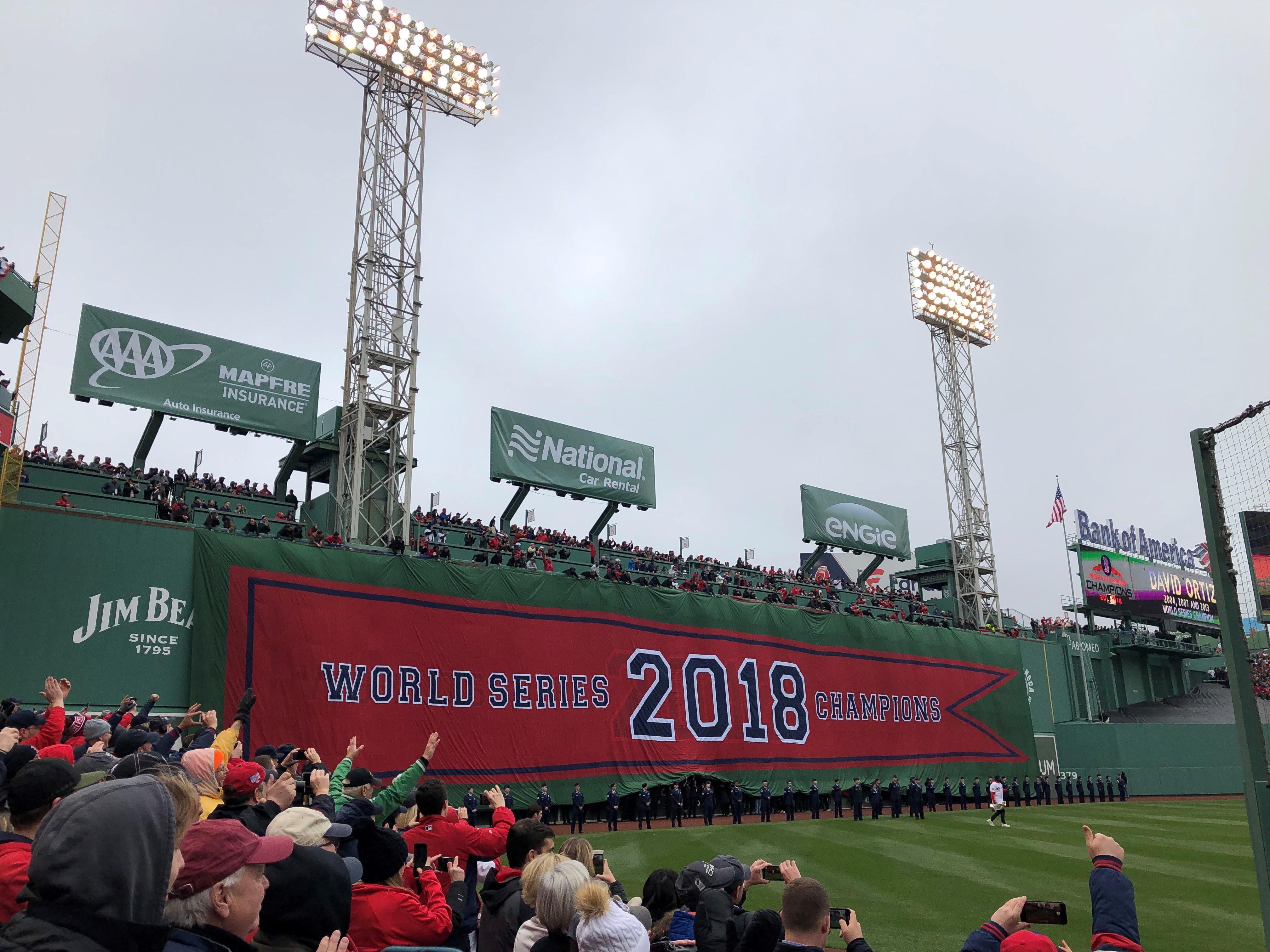 2018 red sox banner