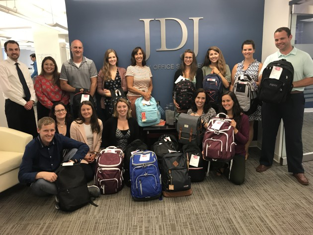 Youth Villages BackPack Heroes 2019