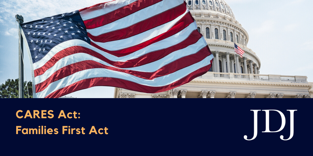 Copy of CARES Act - Families First Act - Final Image